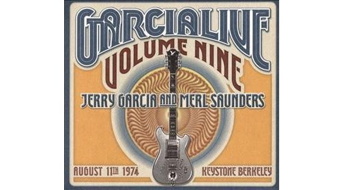 Jerry Garcia - Garcia Live Volume Nine:August 11th (CD) - image 1 of 1