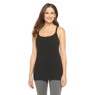 Women's Nursing Cotton Cami Black M - Gilligan & O'Malley™