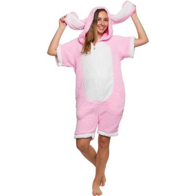 Funziez! Bunny Adult Short Sleeve Novelty Romper
