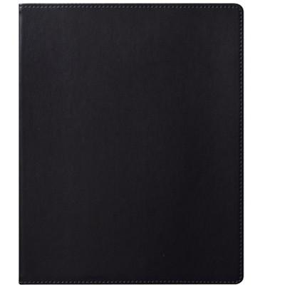 "Eccolo Simple Faux Leather Journal 8""W x 10""H Black (D521N) 865886"
