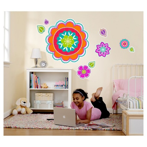 Flower Giant Wall Decal - image 1 of 1