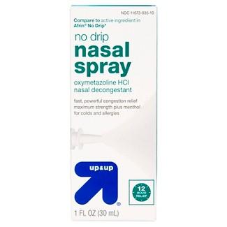 No Drip Nasal Decongestant Spray - 1 fl oz - Up&Up™ (Compare to active ingredient in Afrin No Drip)