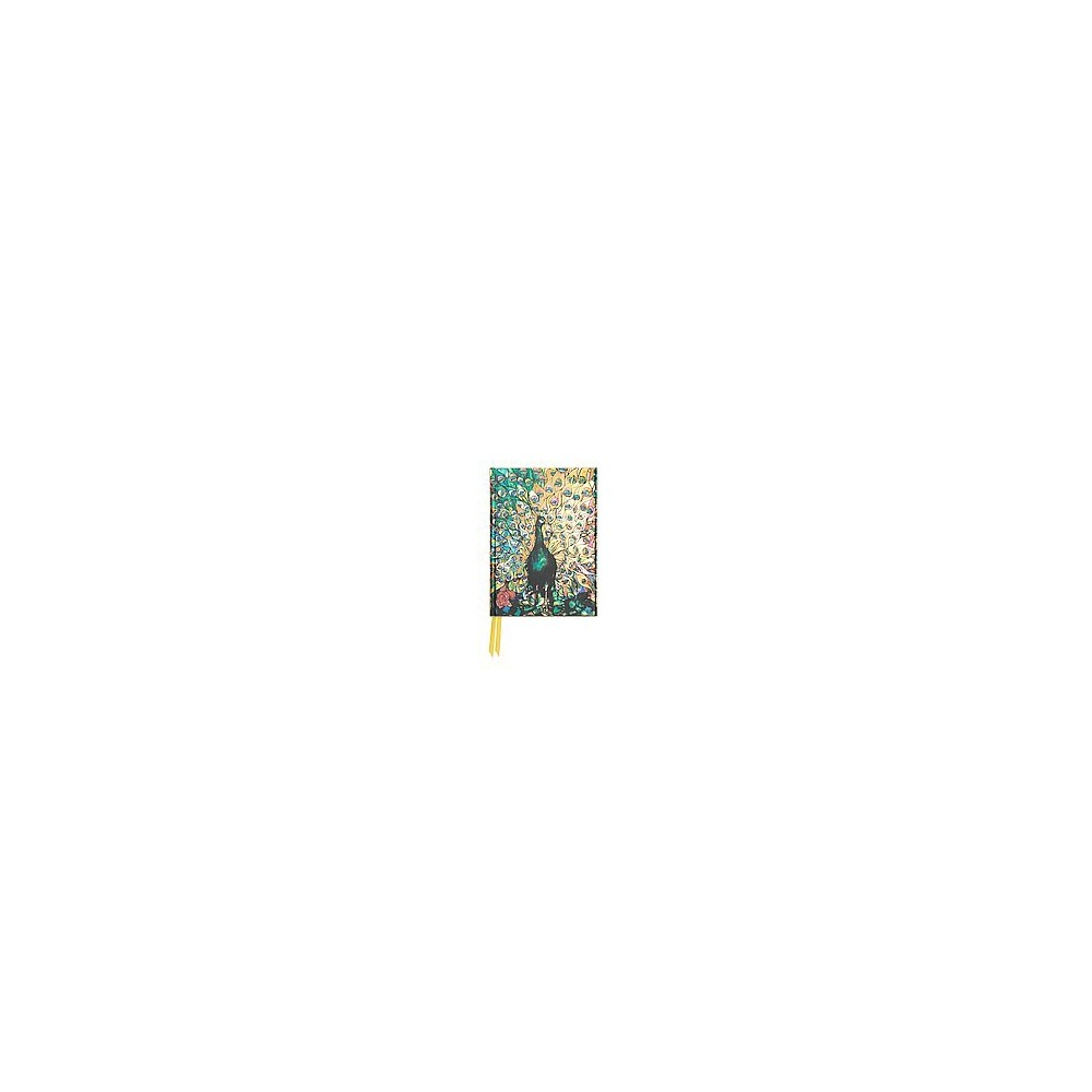 Tiffany Peacock Foiled Pocket Journal (Hardcover)