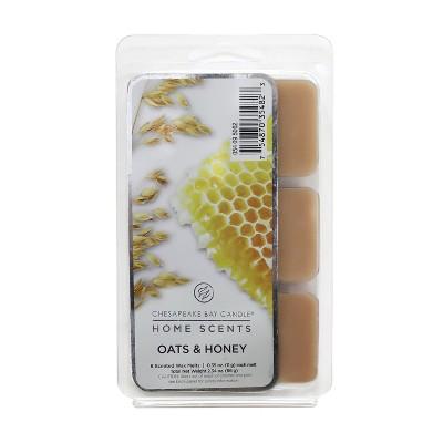 6pk Wax Melts Oats & Honey - Chesapeake Bay Candle