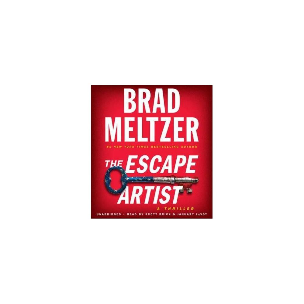 Escape Artist - Unabridged by Brad Meltzer (CD/Spoken Word)