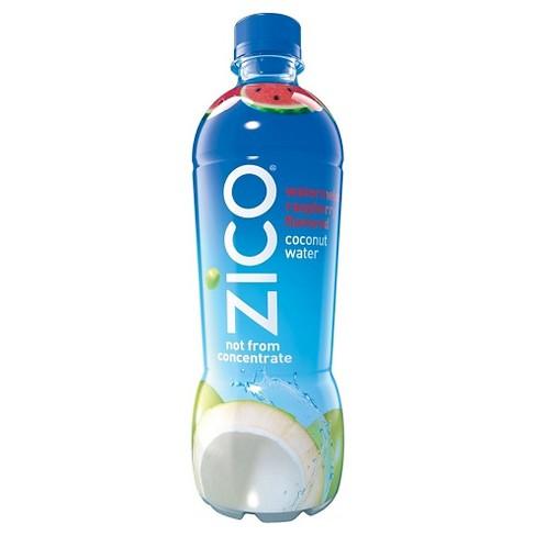 ZICO Watermelon Raspberry Flavored Coconut Water - 16.9 fl oz Bottle - image 1 of 3