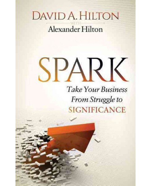 Spark : Take Your Business from Struggle to Significance (Paperback) (David A. Hilton) - image 1 of 1