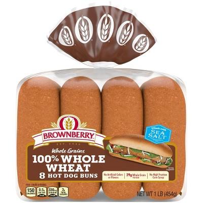 Brownberry Wheat Hot Dog Buns - 14oz
