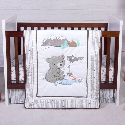 Trend Lab Gone Fishing Crib Bedding Set - 3pc
