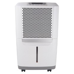 Frigidaire Energy Star 70-Pint Portable Dehumidifier White