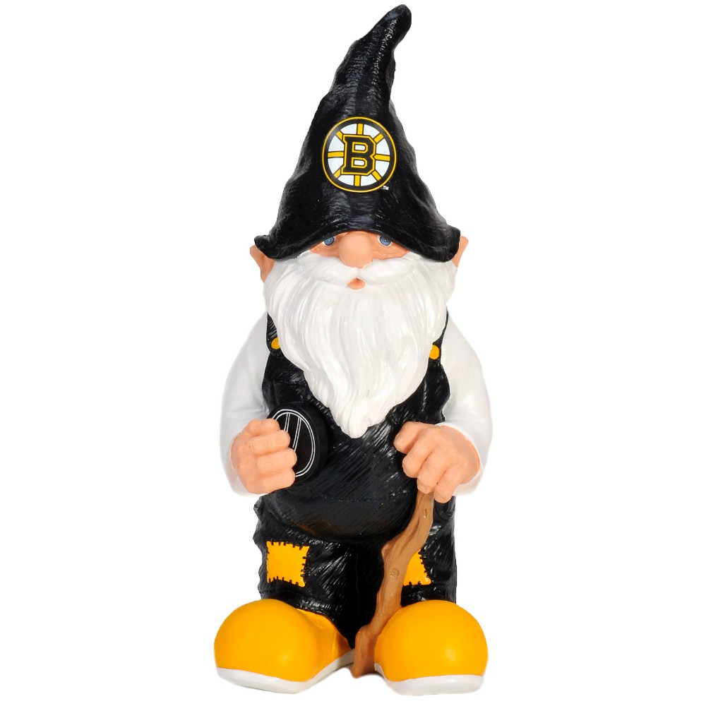 Boston Bruins Team Gnome, Outdoor Sculptures and Statues