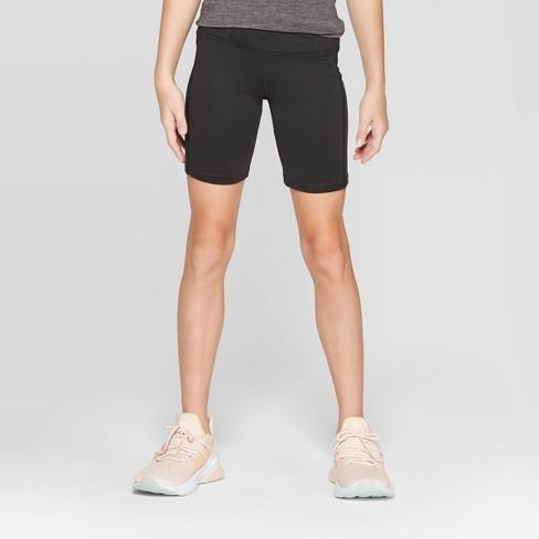 Girls' Bike Shorts - C9 Champion® Black - image 1 of 3