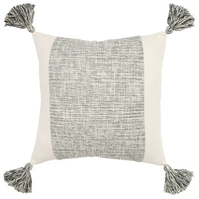 """20""""x20"""" Color Block Polyester Filled Square Throw Pillow - Donny Osmond Home"""