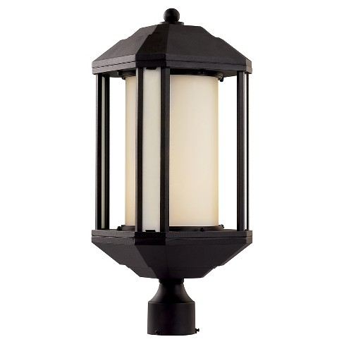 Bel Air Lighting Outdoor Post Light Black - image 1 of 1
