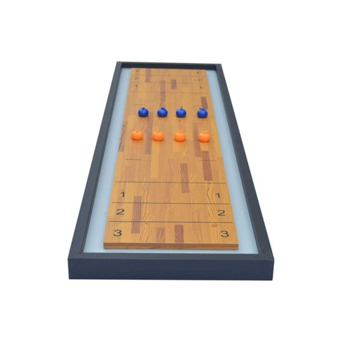 Hathway Switchback Tabletop Shuffleboard And Curling