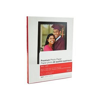 "MyOfficeInnovations Premium Glossy Photo Paper 8.5"" x 11"" 50/Pack (19899-CC) 648178"