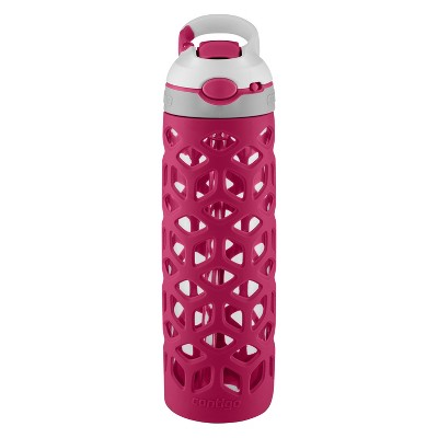 Contigo Ashland 20oz Portable Drinkware Water Bottle - Pink