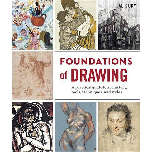 Foundations of Drawing - by  Al Gury (Paperback) - image 1 of 1