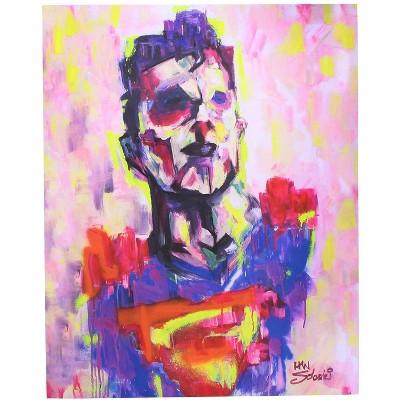 Toynk DC Comics Superman Limited Edition 8x10 Inch Art Print by Han Soloski