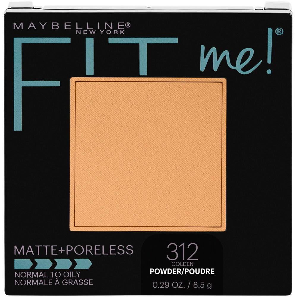 Maybelline Fit Me Matte Poreless Pressed Face Powder 312 Golden 0 29oz