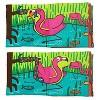 Melissa & Doug K's Kids Soft Activity Baby Book Set: Animals (Whose Feet? and Wild Animals) - image 4 of 4