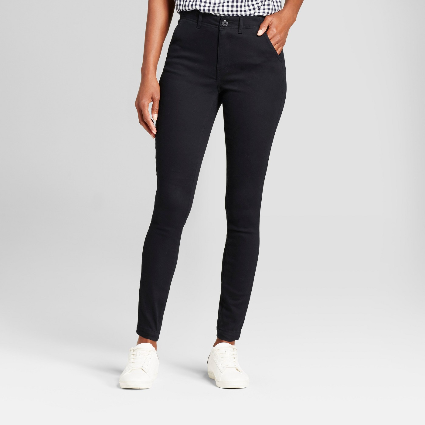 Women's Skinny Chino Pants - A New Day™ - image 1 of 3