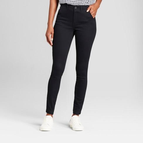 Womens Skinny Chino Pants A New Day Tan 2