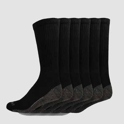 Dickies Men's Dri-Tech Crew Socks - 6-12