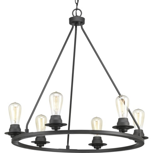 "Progress Lighting P400015 Debut 6 Light 28"" Wide Ring Chandelier - image 1 of 1"