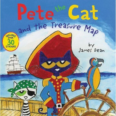 Pete the Cat and the Treasure Map (Paperback)(James Dean)