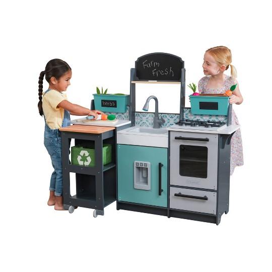 KidKraft Garden Gourmet Play Kitchen image number null