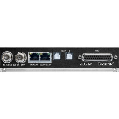 Focusrite ISA ADN8 8 Channel Dante Network A/D Card for ISA 428 MkII and 828 MkII