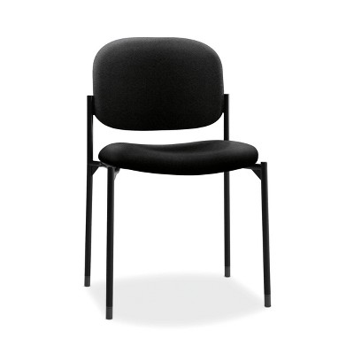 Scatter Fabric Stacking Office Chair Black - HON