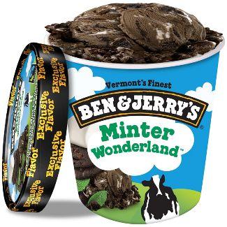 Ben & Jerrys Minter Wonderland Ice Cream - 1pt