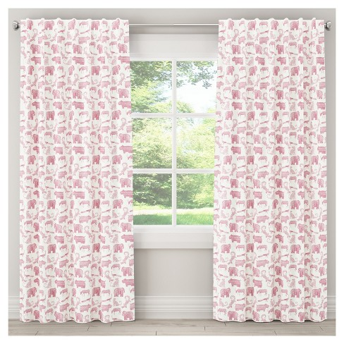 Menagerie Blackout Curtain Panel - Skyline Furniture® - image 1 of 4