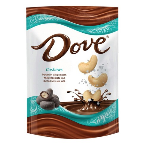 Dove Sea Salt Dusted Milk Chocolate Dipped Cashews - 5oz - image 1 of 5