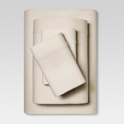 Linen Blend Sheet Set (Queen)Natural - Threshold™