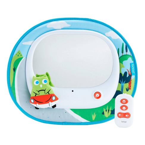 Munchkin Brica Cruisin' Baby In-Sight Car Mirror - Owl - image 1 of 4