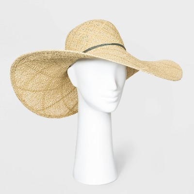 Women's Open Weave Floppy Hats - A New Day™ One Size