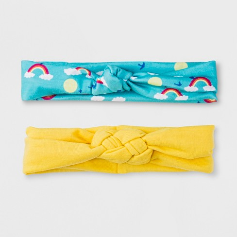 Girls' 2pk Knotted Headbands - Cat & Jack™ - image 1 of 3