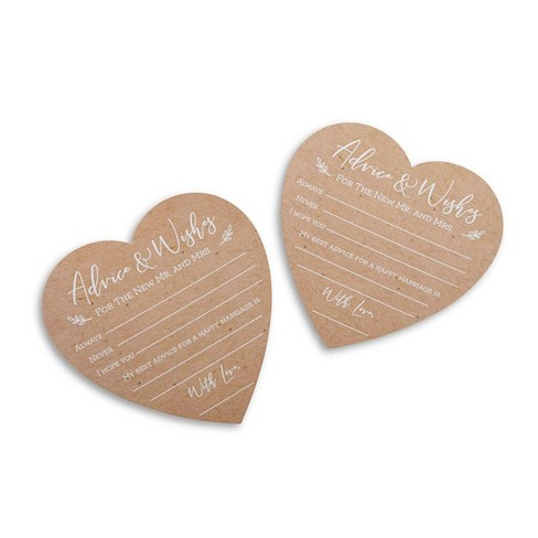 50ct Wedding Game Cards - image 1 of 4