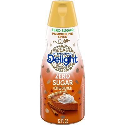 International Delight Pumpkin Pie Spice Zero Sugar Coffee Creamer - 1qt