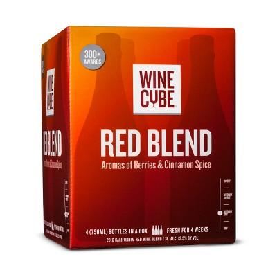 Red Blend Red Wine - 3L Box - Wine Cube™