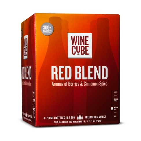 Red Blend Red Wine - 3L Box - Wine Cube™ - image 1 of 2