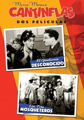 Cantinflas: El Gendarme Desconocido/Los Tres Mosqueteros (DVD)