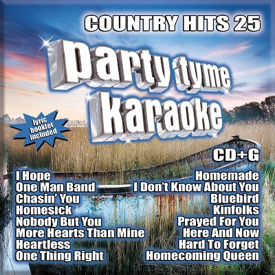 Party Tyme Karaoke - Country Hits 25 (CD)