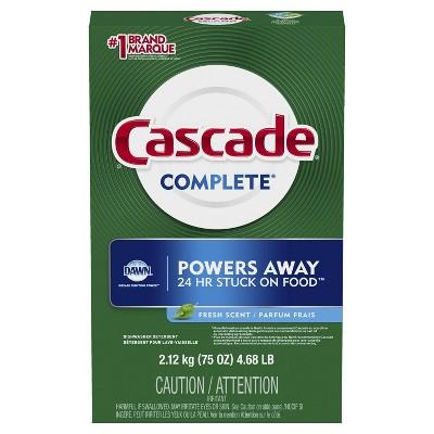Dishwasher Detergent: Cascade Complete