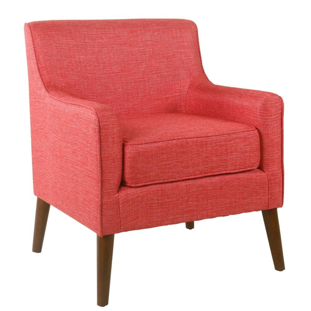 Davis Mid-Century Accent Chair Pink - HomePop was $279.99 now $209.99 (25.0% off)