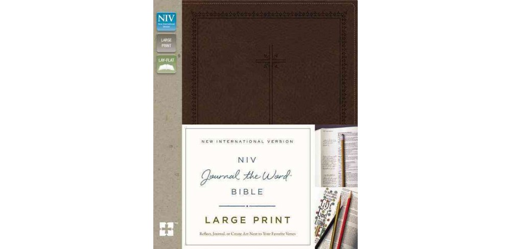NIV Journal the Word Bible : New International Version, Brown, Italian Duo-Tone (Large Print)