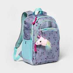 "17"" Kids' Backpack Gray Unicorn - Cat & Jack™"